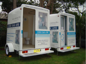 Luxury Portable Bathroom service