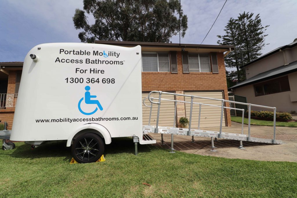 Mobility Bathroom for hire.